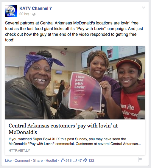 KATV Feb. 3 Facebook